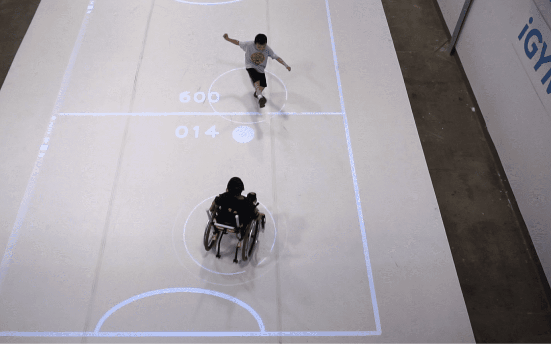 An Augmented Reality System for Inclusive Recreational Sports