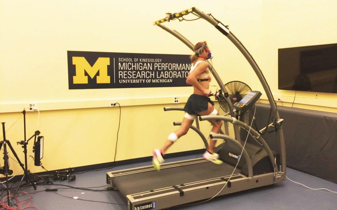 The Biomechanics of the Sub-four Minute Mile