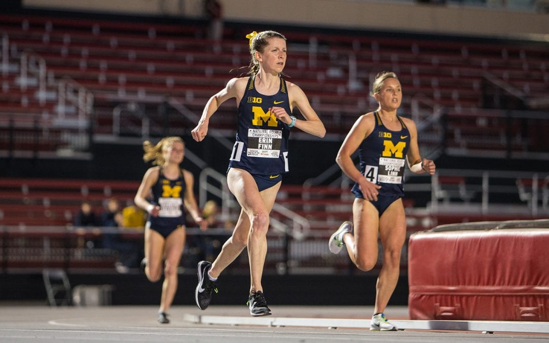 Erin Finn Examining Final Year on Track with Scientific Focus